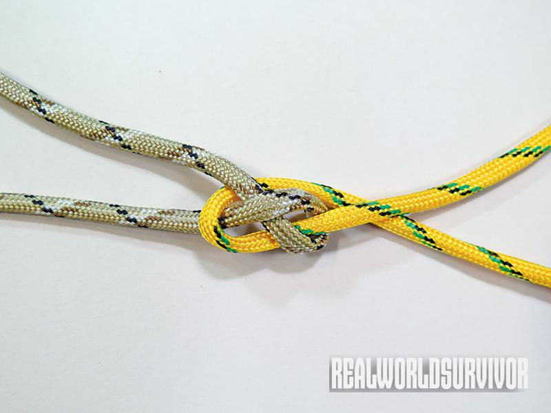 Learn to knot a carrick bend.