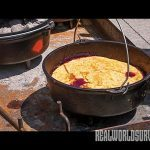 Use your Dutch oven to create a delicious cobbler.