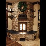 Masonry contraflow heater