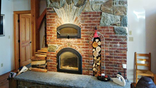 Dale Demary masonry heater