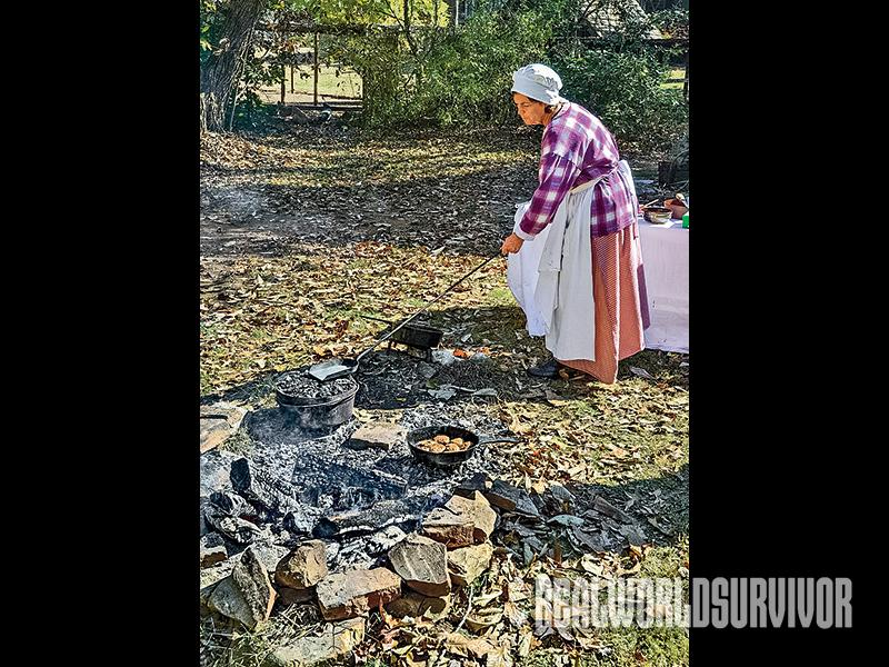 Early pioneers used the Dutch oven for outdoor cooking.