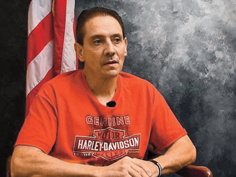 After the incident, Sanders is currently on the mend. KWTV News 9 photo