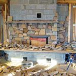 Masonry heater installation