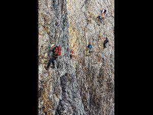 Mountain climbing stamina