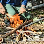 Fire can improve your mood, so bring fire-makers on your next off-grid trip.