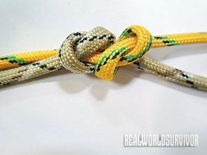 Learn to tie a sliding overhand knot.
