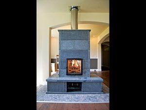 Soapstone masonry heater
