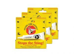 Stops The Sting prepper product