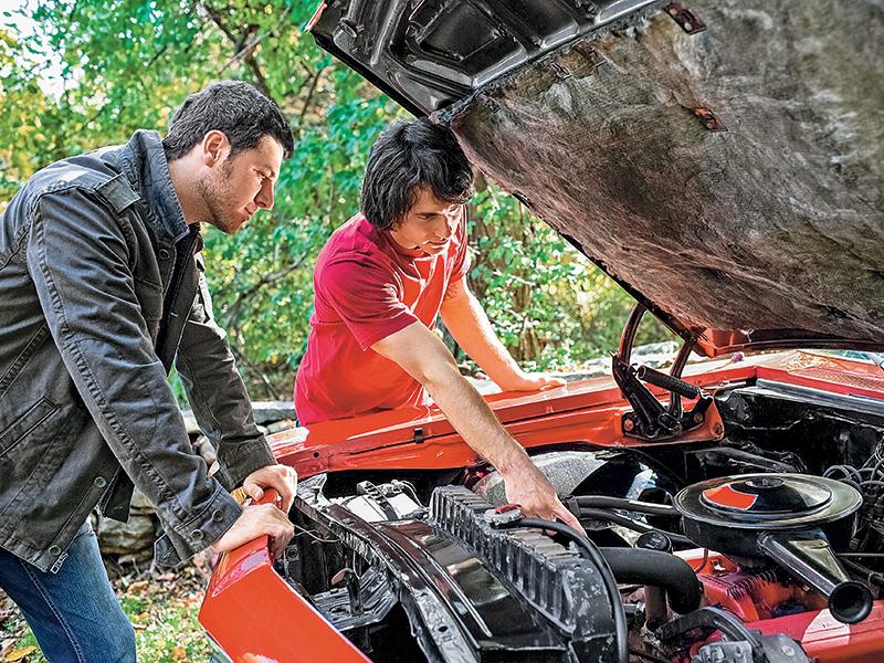 Backwoods vehicle emergency