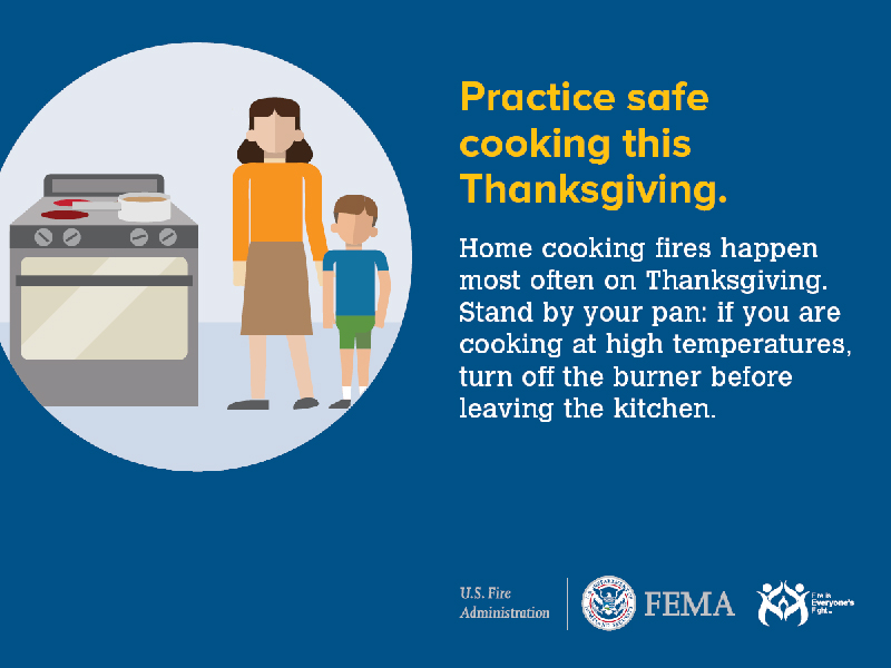 Thanksgiving cooking safety tips