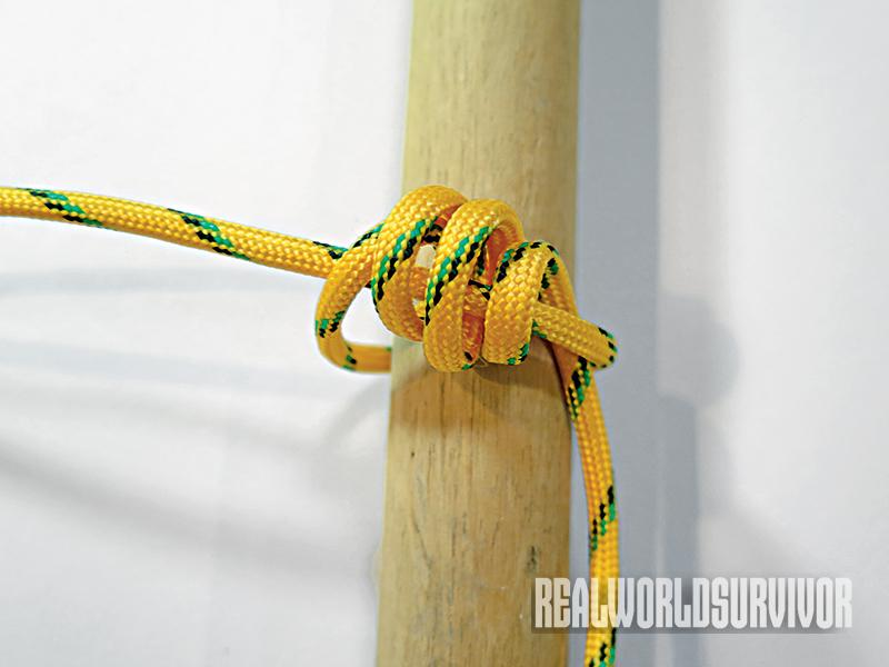 Learn to knot a timber hitch.