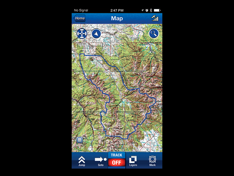 Trimble Outdoors Off-The-Grid Maps prepper product