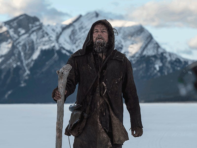 The Revenant Hugh Glass Leonardo DiCaprio