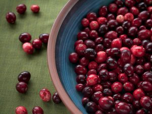 cranberries, natural healer