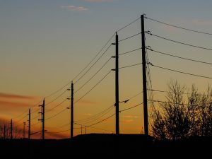 electrical grid, power lines,