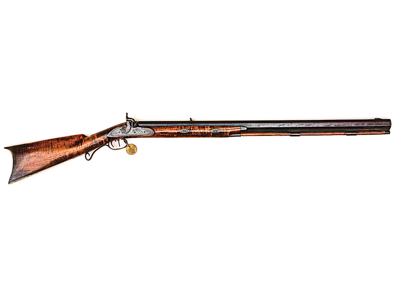 John Johnston half-stock Hawken rifle