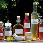 Products made from herbs