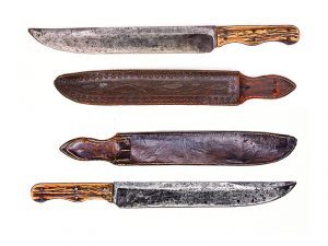 John Johnston fixed-blade knives