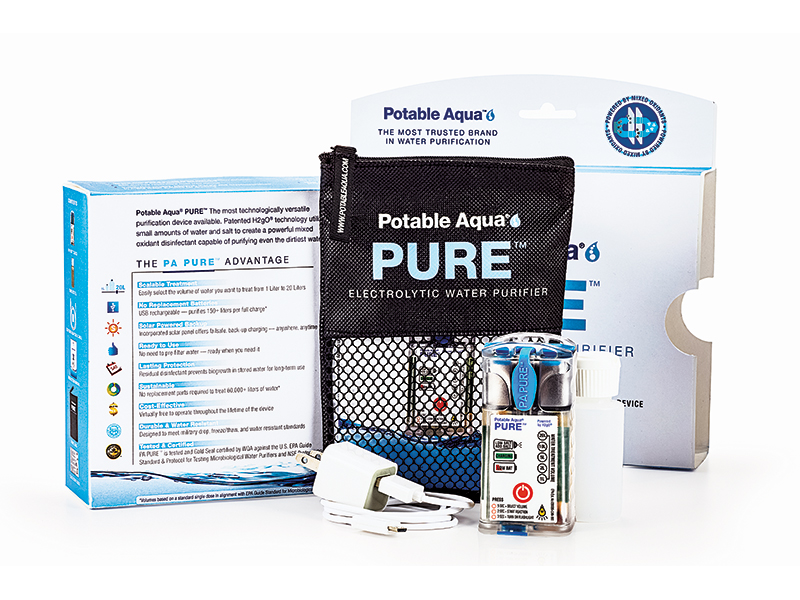 prepper products, preppers, disaster preparedness, disaster aftermath, Potable Aqua PURE Electrolytic Water Purifier