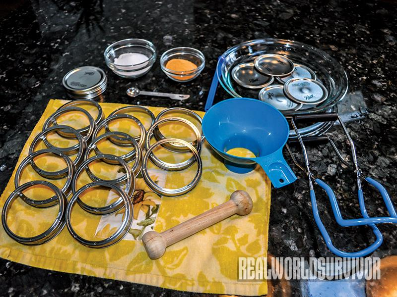 Venison pressure canning materials