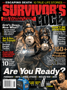 Survivor's Edge Spring 2016 cover