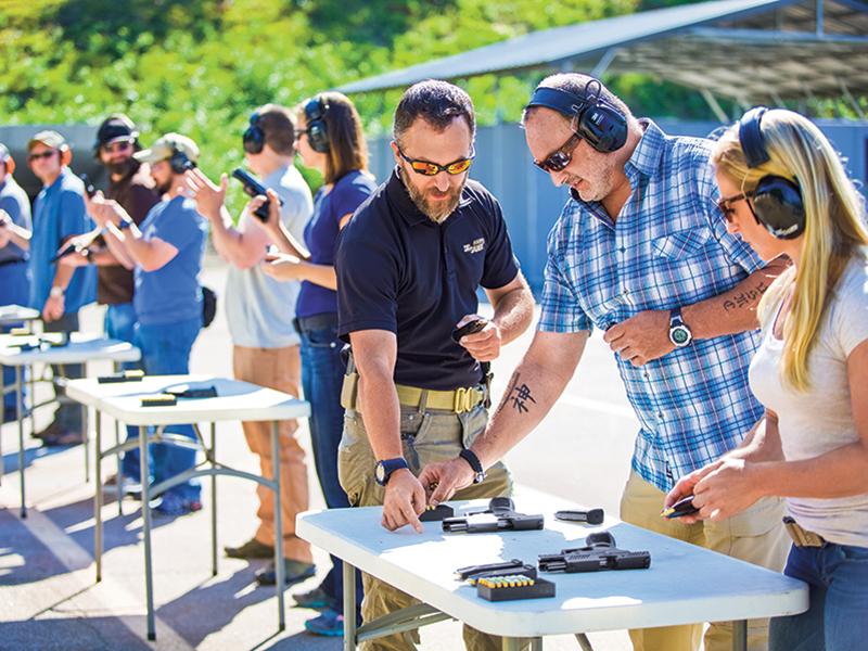 firearms, training, firearms training, firearms trainers, firearms training course, Sig Sauer Academy