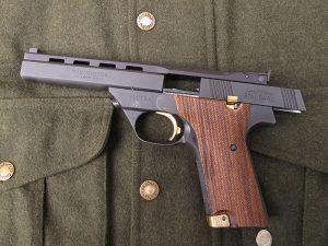 High Standard Victor stationary sights