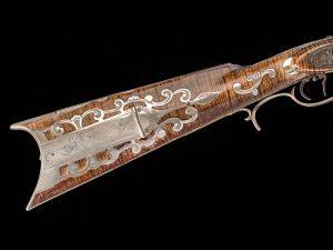 Kentucky long rifles, rifles, adjustable triggers