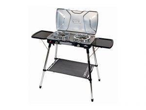 winter shelter kit, camp stove