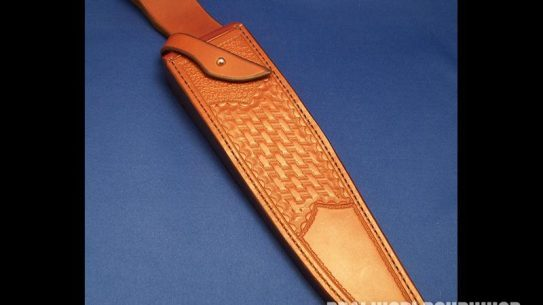 knife sheath, Chuddy Bear Leather