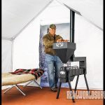 Clarry Pellet Stove, portable stove