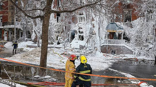 winter fires, fire safety, firefighters