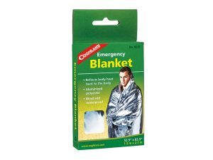 Roadside Rescue Kit, Emergency Blanket
