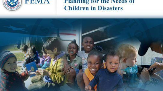 FEMA, study course, interactive course, online course, IS-366: Planning for the Needs of Children in Disasters, disaster preparations, children, kids, disaster response prep