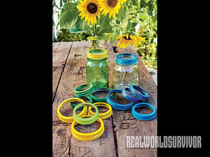 Mason jars for homemade gifts