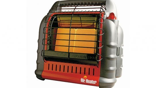 winter shelter kit, space heater
