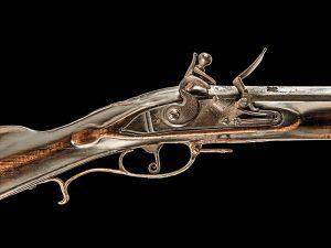 Kentucky long rifles, rifles, flintlock rifle
