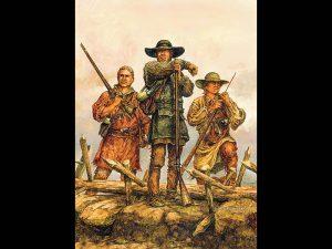 One Kentucky Rifleman, Kentucky long rifle, long rifles