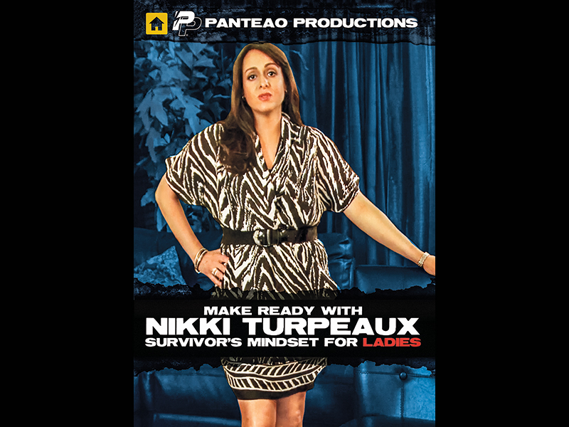 Nikki Turpeaux is featured in a Panteao Productions DVD for women.