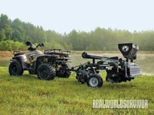 farmland, ATV, all-terrain vehicles, farming, Plotmaster Hunter 400
