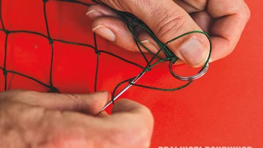 pocket survival net, net attachment, diy survival gear, diy project, trapping, fishing, nets