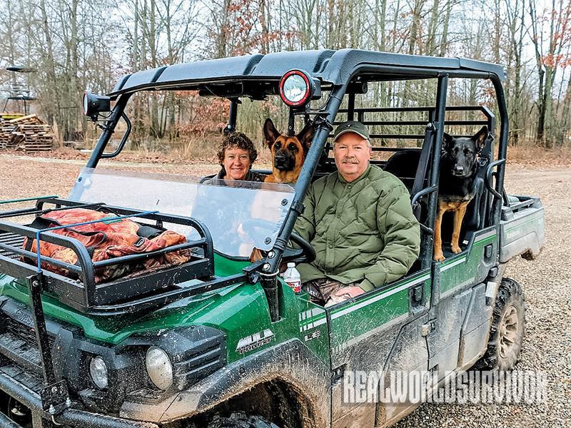 Topper hog hunting