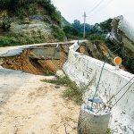 Typhoons can create dangerous mudslides.
