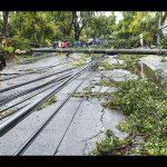 typhoon storm damage