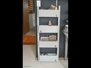 home organizing project, wall organizer