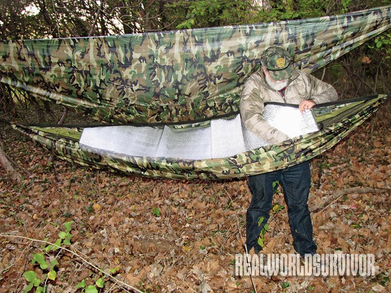 bug-out, bug-out bag, shelter, hammock