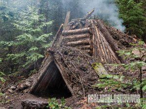 debris hut, backwoods, diy, shelter