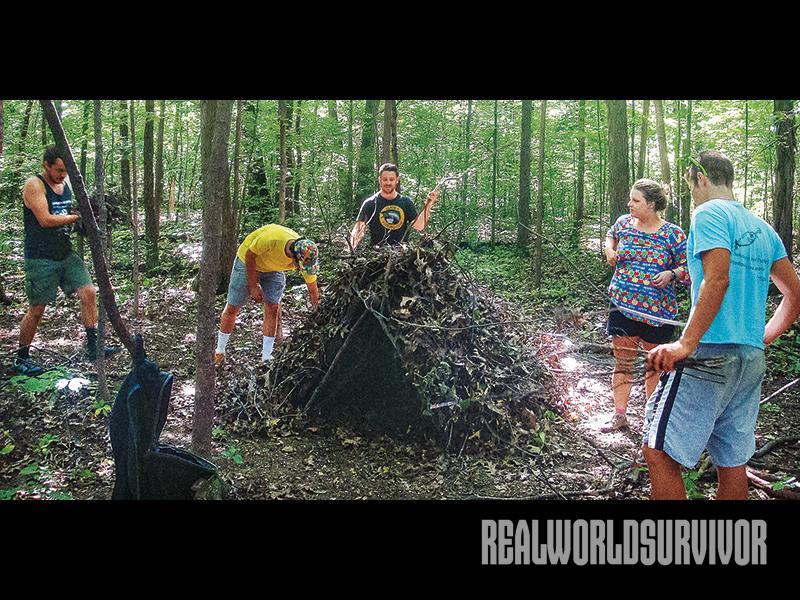 debris for debris hut