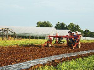 Farm Hack, homestead, self-guided furrow machine