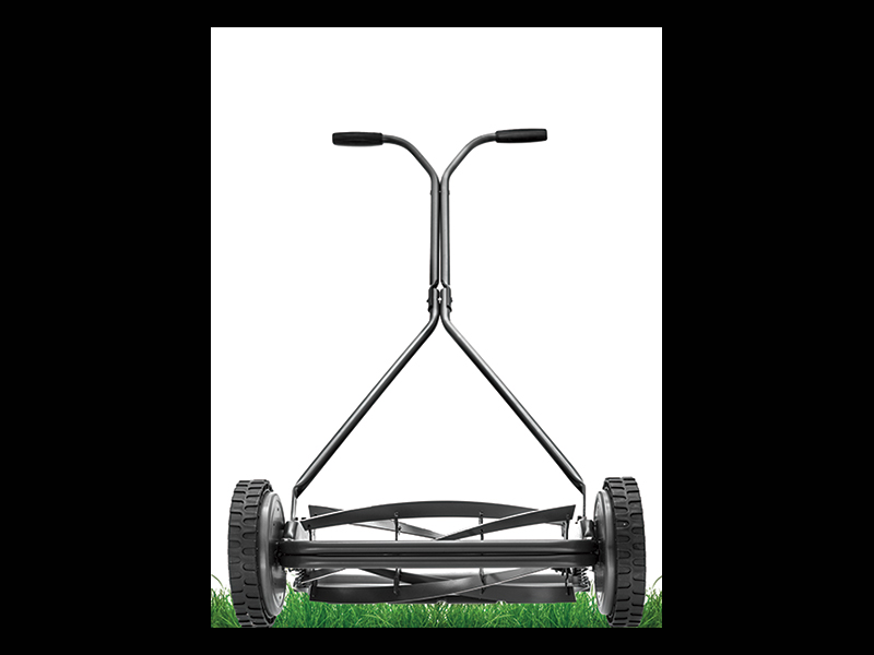 The push mowers is less accident-prone than other mowers.